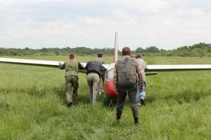 L-13 Blanik на старт