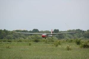 L-13 Blanik посадка